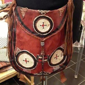 Vintage boho festival hippie purse